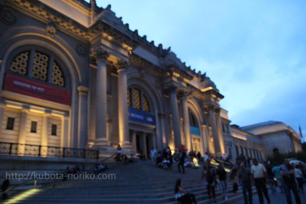 ニューヨーク美術館巡り4 夜のメトロポリタン美術館