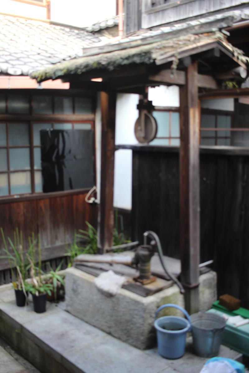 禅寺 井戸