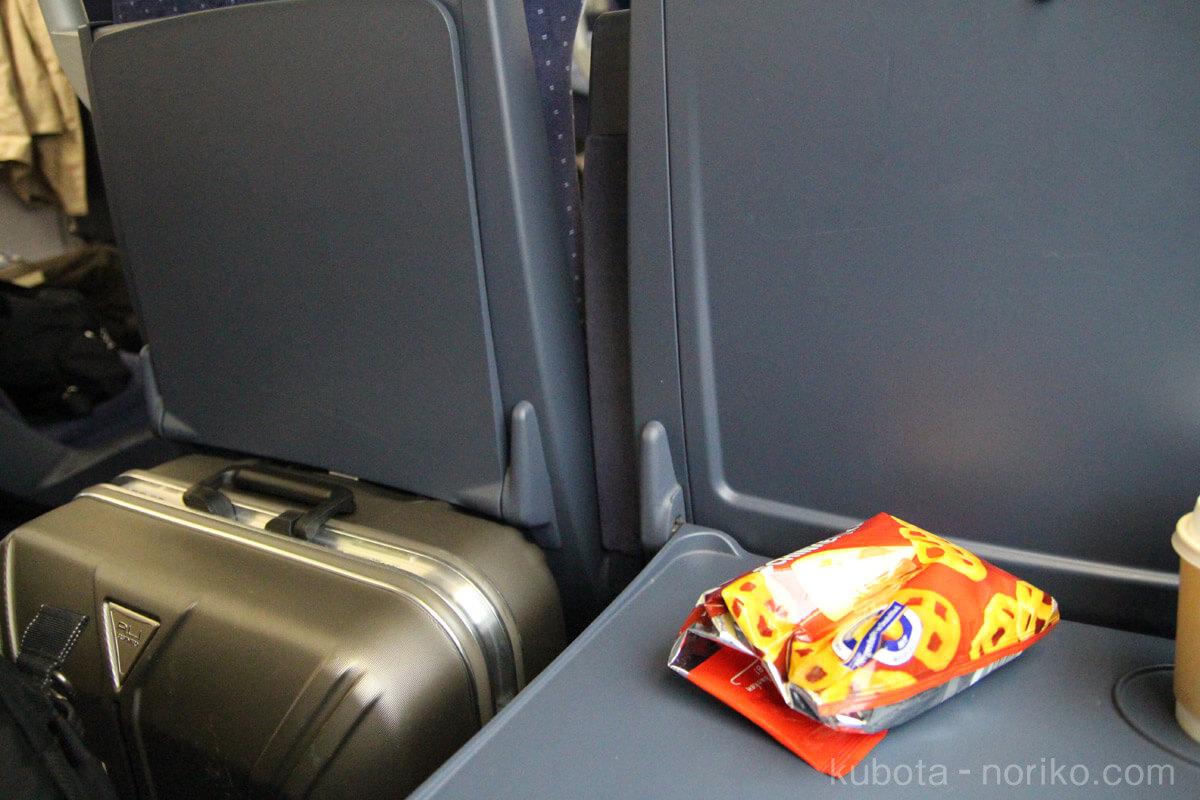 乗り換えて2等席へ