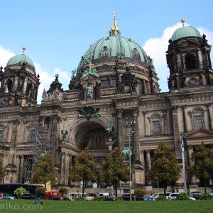 ベルリン大聖堂と世界遺産のムゼウムスインゼル(博物館島)