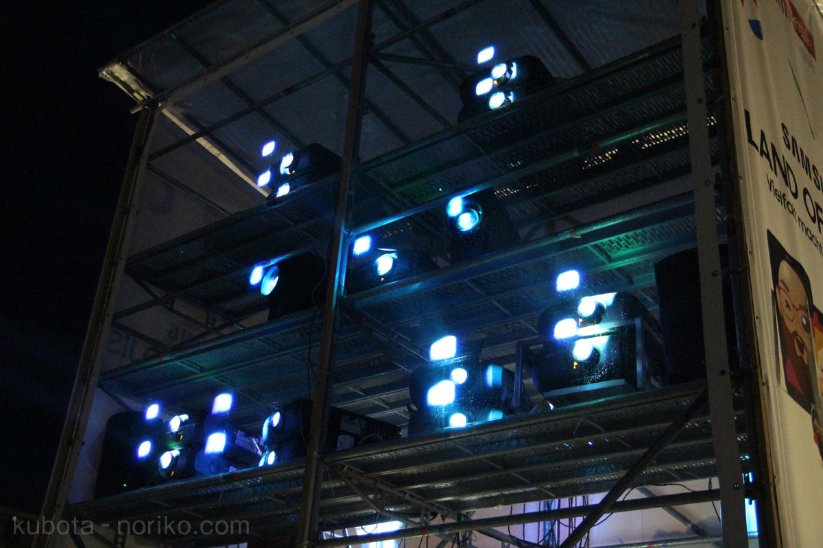 光の祭典プロジェクター