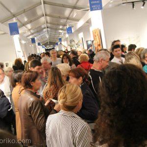 シャンゼリゼ通りで入選作展示、内覧会に出席してきました