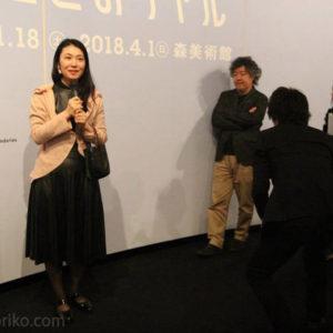 レアンドロ展作品解説と脳科学者の茂木先生のディナートークイベント