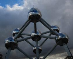 ブリュッセル万国博覧会のシンボル、アトミウムを訪ねて
