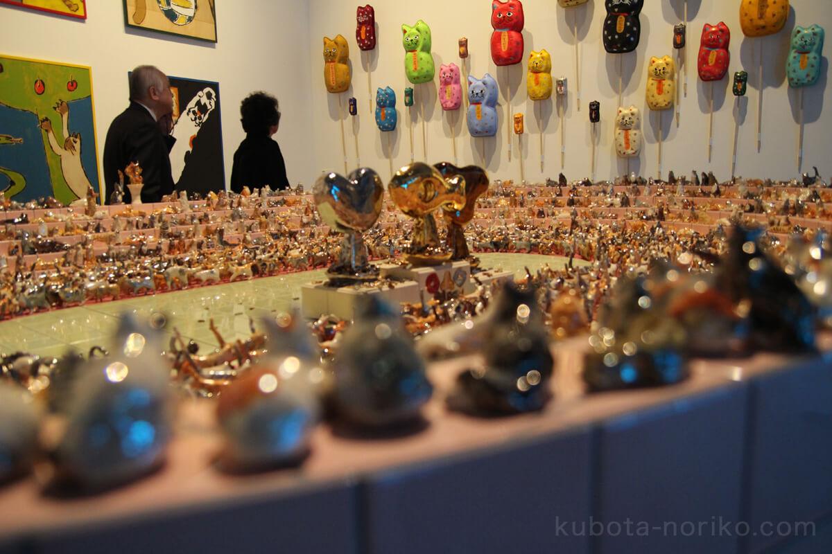 森美術館六本木クロッシング2019猫